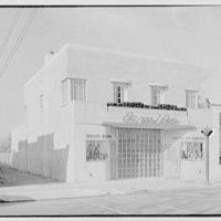 Emile's Beauty Shop, 82 N. Village Ave., Rockville Centre, Long Island. Exterior, beauty shop and A & P V