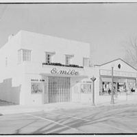 Emile's Beauty Shop, 82 N. Village Ave., Rockville Centre, Long Island. Exterior, beauty shop and A & P II