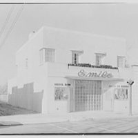 Emile's Beauty Shop, 82 N. Village Ave., Rockville Centre, Long Island. Exterior, beauty shop and A & P III