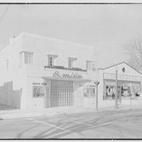 Emile's Beauty Shop, 82 N. Village Ave., Rockville Centre, Long Island. Exterior, beauty shop and A & P I
