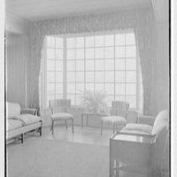 Emily Abbey Hall, Mount Holyoke College, South Hadley, Massachusetts. Living room, window