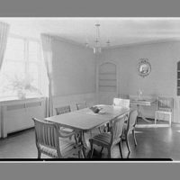 Emily Abbey Hall, Mount Holyoke College, South Hadley, Massachusetts. Private dining room