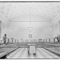 Fulton Savings Bank, 815 Flatbush Ave., Brooklyn, New York. General interior with new top lighting