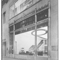 Hammond Organ Company, business at 50 W. 57th St., New York City. Exterior, at night