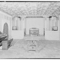 Hammond Organ Company, business at 50 W. 57th St., New York City. Moorish room, full light