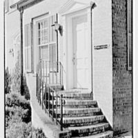 Harold I. Rakow, M.D., residence and office at 117 Albany Ave., Kingston, New York. Office entrance, 1 p.m.