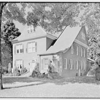 Harold I. Rakow, M.D., residence and office on 117 Albany Ave., Kingston, New York. General view, from right