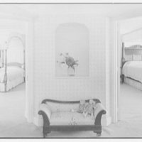 Henry W. Bagley, Bellehaven, residence in Greenwich, Connecticut. Children's suite, entrance hall, horizontal
