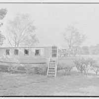 Henry W. Bagley, Bellehaven, residence in Greenwich, Connecticut. Enchanted Voyage, a play boat