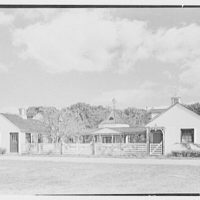 Henry W. Bagley, Bellehaven, residence in Greenwich, Connecticut. Farm group, general view