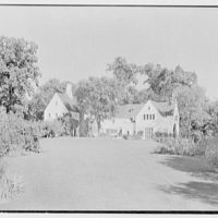Henry W. Bagley, Bellehaven, residence in Greenwich, Connecticut. General view, from southwest II