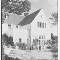 Henry W. Bagley, Bellehaven, residence in Greenwich, Connecticut. New wing from west III