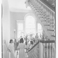 Holy Child School, Suffern, New York. Staircase