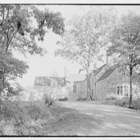 J.S. Griswold, residence in Greenwich, Connecticut. General view from entrance drive