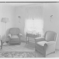 Linmore Street housing, Philadelphia, Pennsylvania. Living room