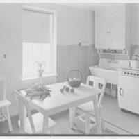 Linmore Street housing, Philadelphia, Pennsylvania. Typical kitchen
