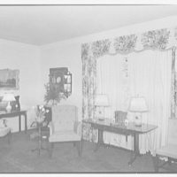 Manor House, residence at 383 Madison Ave., New York City. Sofa and cabinet