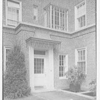 Midland Gardens, Bronxville, New York. Entrance detail
