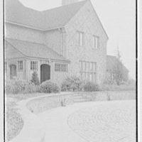 Mr. W.L. Hanley, Jr., Yal Farm, residence in Greenwich, Connecticut. Entrance detail II
