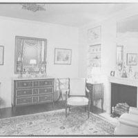 Mrs. Walter Z. Shafer, residence at 277 Park Ave., New York City. Bedroom