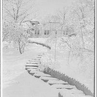 National Park College. Winter scene at National Park College II
