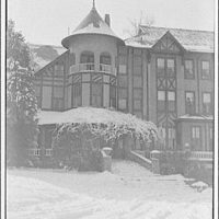 National Park College. Winter scene at National Park College IX