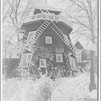 National Park College. Winter scene at National Park College V