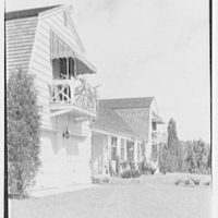 Neil Agnew, Kettlehill Farm, residence in Newtown, Connecticut. Exterior, sharp view