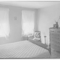 North Fortieth Street housing group, Philadelphia, Pennsylvania. Typical bedroom