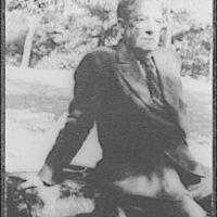 [Portrait of Sherwood Anderson, Central Park]