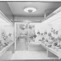 Postman's, business at 436 5th Ave., New York City. Vestibule to store