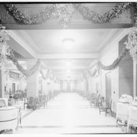 Potomac Electric Power Co. Building. Christmas 1939, Potomac Electric Power Co. interior III