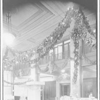 Potomac Electric Power Co. Building. Christmas 1939, Potomac Electric Power Co. interior V