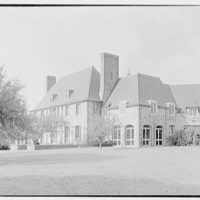Rush Sturges, residence in Wakefield, Rhode Island. East facade, from right