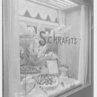 Schrafft's, 1221 Madison Ave., New York City. Detail of window