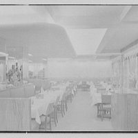Schrafft's, 1221 Madison Ave., New York City. Interior from candy counter