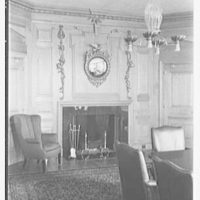 Southern New England Telephone Company, administration building, New Haven, Connecticut. Board of directors' room, fireplace