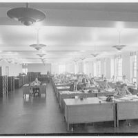 Southern New England Telephone Company, administration building, New Haven, Connecticut. Plant engineer's office