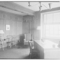Southern New England Telephone Company, administration building, New Haven, Connecticut. General plant manager's office
