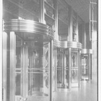 Southern New England Telephone Company, administration building, New Haven, Connecticut. Vestibule I