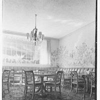 Stouffer's restaurant, E. 42nd St., New York City. Ceiling detail, terrace restaurant I