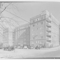 Thomas Jefferson Apartments, Forest Hills, Long Island. General exterior