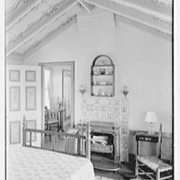 Vernon H. Brown, residence in Eldred, Pennsylvania. Bedroom A, to Franklin furnace