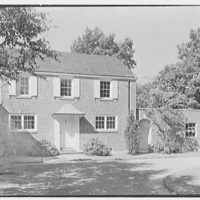 W. Stuart Thompson, residence in Hillcrest Park, Stamford, Connecticut. General view II