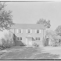 W. Stuart Thompson, residence in Hillcrest Park, Stamford, Connecticut. General view I