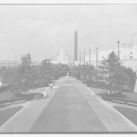 World's Fair, Communication Building. Gardens, general view from roof