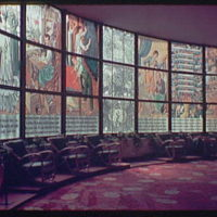 World's Fair. Czech mural I
