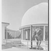 World's Fair, Elgin National Watch Co. Entrance pergola and dome