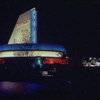 World's Fair. Firestone Tire & Rubber Company Building at night I