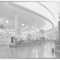 World's Fair, Ford Motor Building. Large circular exhibit room